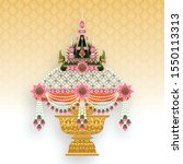 Thai Buddhist Monk Robes With...
