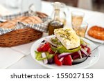 Greek Salad With Country Bread...