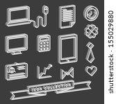 icons of communication...