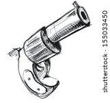 revolver icon | Shutterstock . vector #155033450