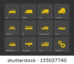 cars and transport icons. see...