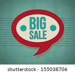 big sale tags over blue... | Shutterstock .eps vector #155038706