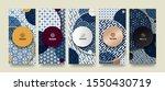 vector set packaging templates...   Shutterstock .eps vector #1550430719