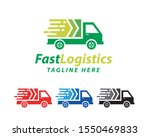 fast delivery logo template... | Shutterstock .eps vector #1550469833