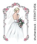 Beautiful Bride In A...