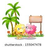 illustration of the happy... | Shutterstock .eps vector #155047478