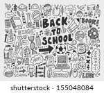 hand draw doodle school element | Shutterstock .eps vector #155048084