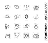 soccer icon. football sport... | Shutterstock .eps vector #1550500946