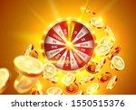 Vector Illustration Spinning...