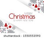 happy new 2020 year flyer... | Shutterstock .eps vector #1550553593