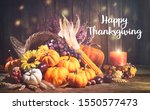 Happy Thanksgiving. Decorative...