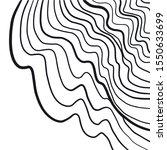 vector black lines on white...   Shutterstock .eps vector #1550633699