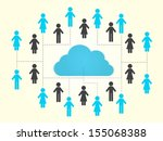 eps10 illustration   info... | Shutterstock .eps vector #155068388