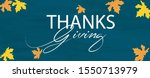 happy thanksgiving typography... | Shutterstock .eps vector #1550713979