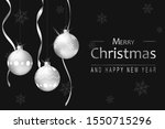 christmas holiday background.... | Shutterstock .eps vector #1550715296