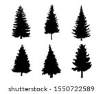 isolated tree on the white... | Shutterstock .eps vector #1550722589