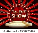 talent show banner  poster ... | Shutterstock .eps vector #1550798876