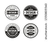 design graphic badge logo... | Shutterstock .eps vector #1550805560