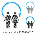 marriage mosaic of unequal... | Shutterstock .eps vector #1550816690