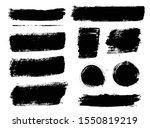 brush strokes. vector... | Shutterstock .eps vector #1550819219
