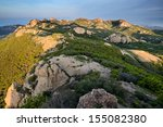 View from the Summit of Sandstone Peak, Santa Monica Mountains, California