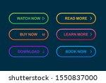 set of vector modern trendy...   Shutterstock .eps vector #1550837000