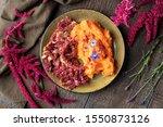 Fried Amaranthus Caudatus...