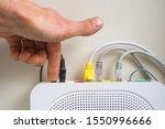 Reset wireless ethernet modem...
