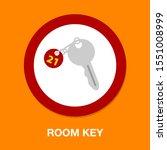 room key icon   vector key... | Shutterstock .eps vector #1551008999