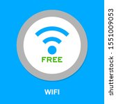 wireless and wifi icons.... | Shutterstock .eps vector #1551009053