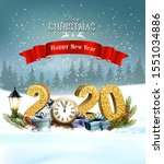 holiday christmas background... | Shutterstock .eps vector #1551034886