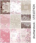 beautiful invitations | Shutterstock .eps vector #155107424