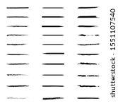 black underline set collection...   Shutterstock .eps vector #1551107540