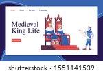 medieval king life landing page ...