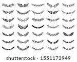 spring collection of elegant...   Shutterstock .eps vector #1551172949