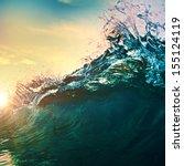Beautiful Breaking Surfing...