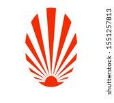 Japanese Rising Sun Symbol ...