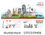 infographics travel and... | Shutterstock .eps vector #1551319406