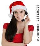 Christmas Call Center Girl  ...