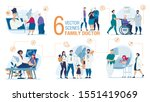 family doctor work trendy flat... | Shutterstock .eps vector #1551419069