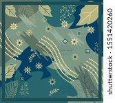 seamless pattern of hijab motif ... | Shutterstock .eps vector #1551420260
