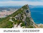 Gibraltar. Natural Landscape...