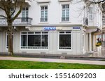 Small photo of Baden-Baden, Germany - March 30, 2018: Grenke Bank branch. It is a German bank based in Baden-Baden was founded in 2009. Grenke Bank is a wholly owned subsidiary of the financial services provider