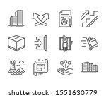 set of industrial icons  such...   Shutterstock .eps vector #1551630779