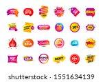 sale banner badge. special... | Shutterstock .eps vector #1551634139