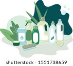 set or composition of vector... | Shutterstock .eps vector #1551738659