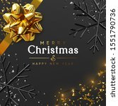 merry christmas and happy new... | Shutterstock .eps vector #1551790736