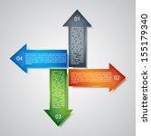 business background. modern... | Shutterstock .eps vector #155179340