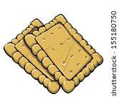 crackers   Shutterstock .eps vector #155180750