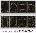 gold decoration for printout... | Shutterstock .eps vector #1551847766